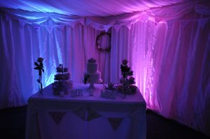 Cambridge Wedding Services - Mood Light